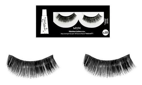 NYX Fabulous Lashes Künstliche Wimpern EL209 Gold Digger