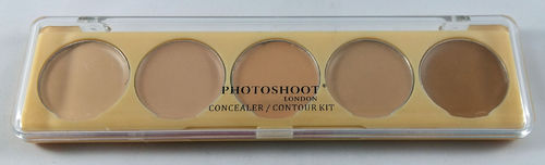 Photoshoot London Light Medium Concealer / Contour Kit 6g
