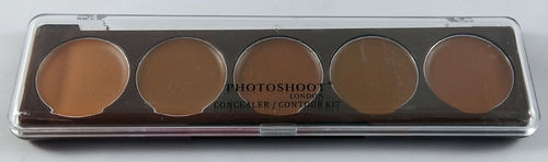Photoshoot London Medium Dark Concealer / Contour Kit 6g