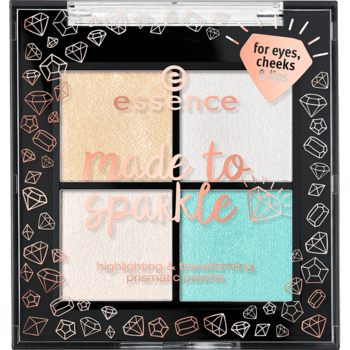 Essence Made To Sparkle Highlighting & Transforming Prismatic Palette 01 7,7g