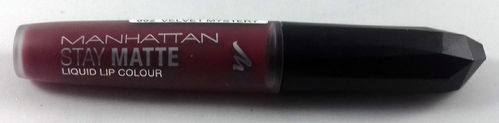 Manhattan Stay Matte Liquid Lip Colour 002 Velvet Mystery 5,5ml