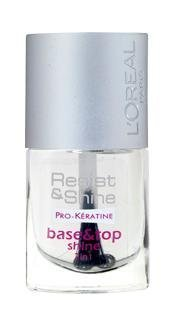 L'Oreal Resist & Shine Pro-Keratine Base & Top Shine 2in1 9ml