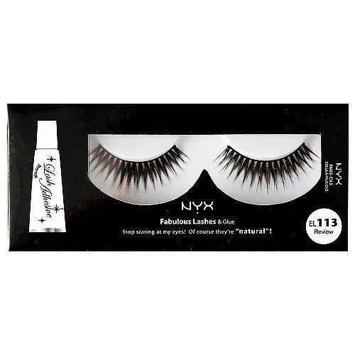 NYX Fabulous Lashes Künstliche Wimpern EL113 Review