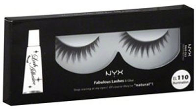NYX Fabulous Lashes Künstliche Wimpern EL110 Illumination