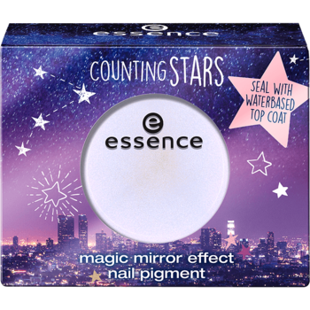Essence Counting Stars Magic Mirror Effect Nail Pigment 01 A Sky Full Of Stars