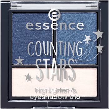 Essence Counting Stars Highlighter & Eyeshadow Trio 02 A Sky Full Of Stars