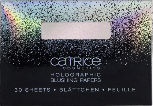 Catrice Dazzle Bomb Holographic Blushing Papers C01 Champagne Shower
