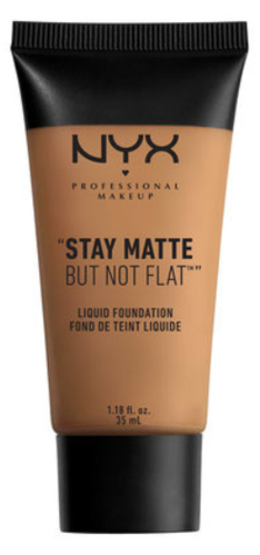 NYX Stay Matte But Not Flat Liquid Foundation SMF18.3 Deep Golden 35ml
