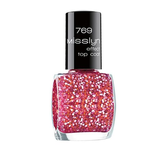 Misslyn Nagellack Effect Top Coat 769 Pink Lady 10ml