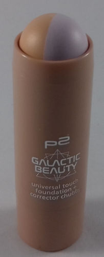 P2 Galactic Beauty Universal Touch Foundation + Corrector Chubby 010 Cutting Edge 6,5g