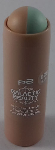 P2 Galactic Beauty Universal Touch Foundation + Corrector Chubby 020 Keep It Real 6,5g
