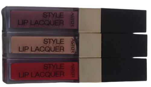 Astor Style Lip Lacquer 3-teiliges Sparset 15ml
