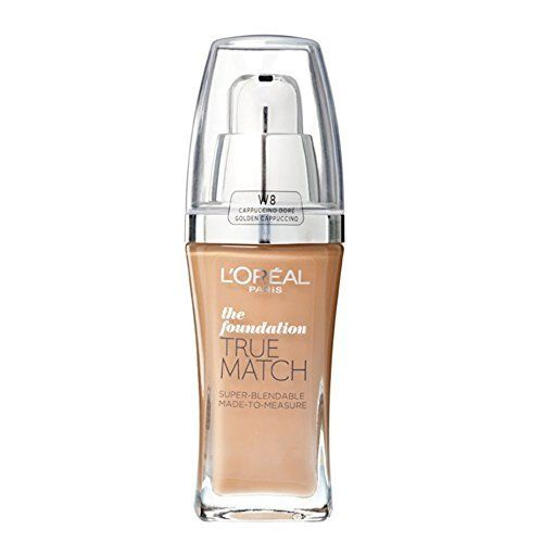 L'Oreal True Match Foundation D8-W8 Golden Cappuccino 30ml