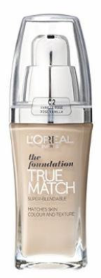 L'Oreal True Match Foundation R2-C2 Rose Vanilla 30ml
