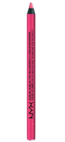 NYX Lipliner Slide On, Glide On, Stay On & Definitely A Turn On Waterproof SLLP10 Sweet Pink