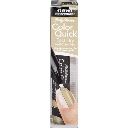 Sally Hansen Color Quick Fast Dry Nail Color Pen 02 Gold Chrome