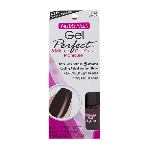 Nutra Nail Gel Perfect 5 Minute Gel-Color Manicure 12762 Dahlia