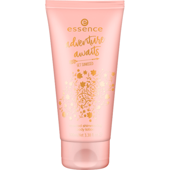 Essence Adventure Awaits Scented Shimmering Body Lotion 01 Explore, Dream, Discover 100ml