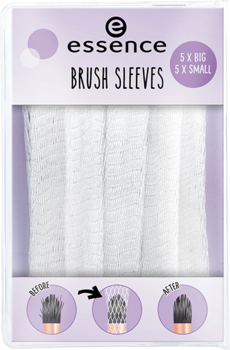 Essence Brush Sleeves 5x big 5x small 01 guardians of the brushes