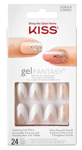 KISS Gel Fantasy Nails KGN02 Rock Candy - 24 Nägel
