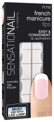 SensatioNail french manicure tips 71710 - white tips