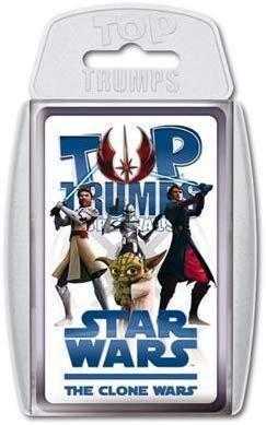 Top Trumps 60727 Sammelkartenspiel, Star Wars - The Clone Wars