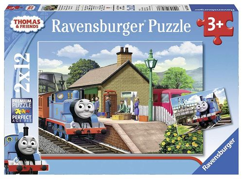 Ravensburger Puzzle 07583 2x12 Thomas & Friends