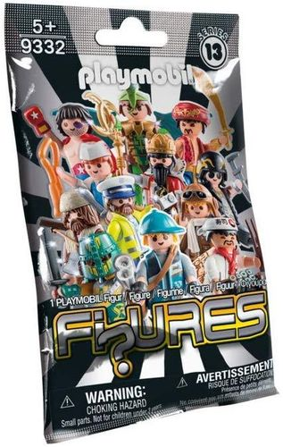 Playmobil 9332 - Figures Boys - Serie 13