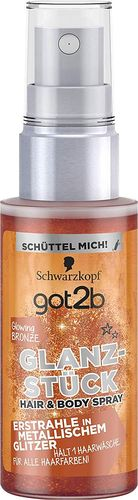 Schwarzkopf Glanzstück Hair & Body Spray Glowing Bronze 50ml