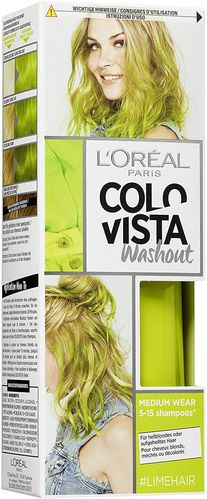 L'Oreal COLOVISTA Washout #LIMEHAIR 80ml