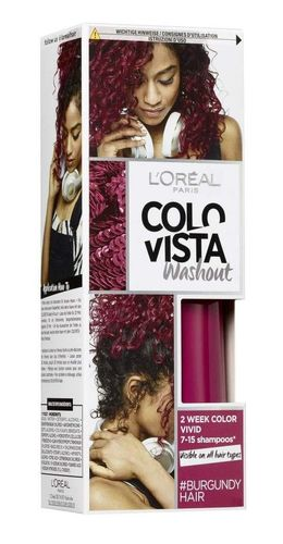 L'Oreal COLOVISTA Washout #BURGUNDYHAIR 80ml