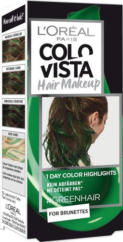 L'Oreal COLOVISTA Hair Makeup #GREENHAIR 30ml