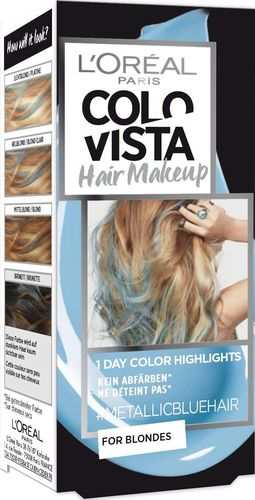 L'Oreal COLOVISTA Hair Makeup #METALLICBLUEHAIR 30ml