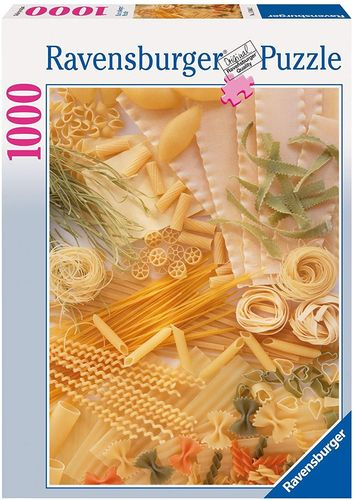 Ravensburger Puzzle 15848 - 1000 Teile Pasta/Nudeln
