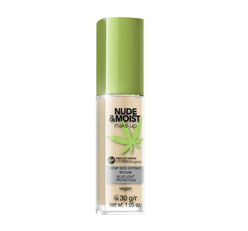 Bell HYPOAllergenic Nude & Moist Make-up 04 Natural Tan 30g