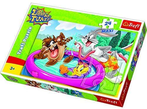 Trefl 14238 Looney Tunes Sommerspass 24 Maxi-Teile Puzzle