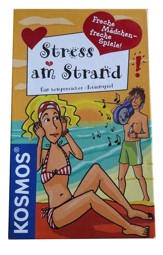 Kosmos 690755 - Stress am Strand - Aktionspiel